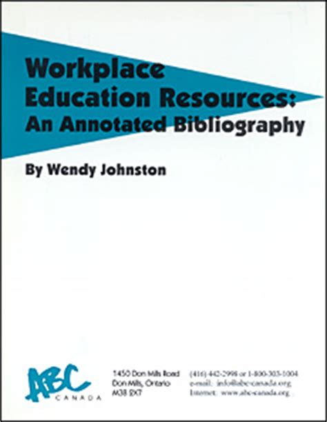 Professional development annotated bibliography summary
